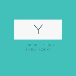Y comme.... New York