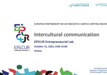 Workshop « Intercultural communication » – EPICUR Entrepreneurial Lab