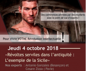 Revolts & Revolutions – 04/10/2018