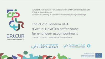 eCafeTandemUHA Presentation